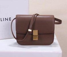 Celine Classic Box Bag 23cm Dark Brown
