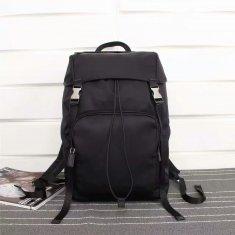 Prada Canvas Backpack VZ135 Black
